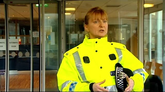 Search for missing boy Mikaeel Kular continues Police appeal SCOTLAND Edinburgh EXT Superintendent Liz McAinsh speaking to press and answering...