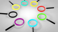 search-magnifying glass-HD animation