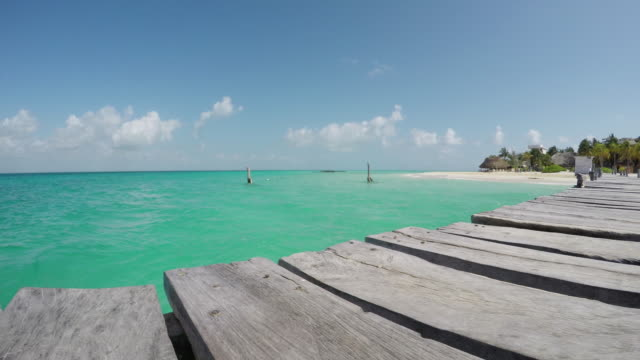 Seascape dock time lapse 4K