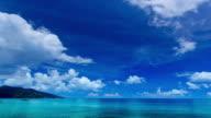 Paesaggio marino time lapse