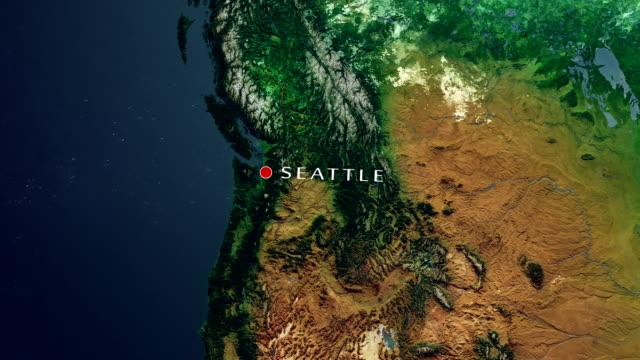 Seattle 4K  Zoom In