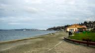 Seattle from Alki Beach timelapse