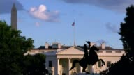 Sebastian Gorka interview after departure from White House T11071710 / TX Washington DC Flag flying above White House SPEEDED UP TIMELAPSE Wide shot...