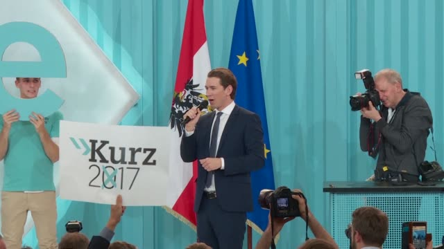 Sebastian Kurz is to be Austria's next chancellor after his center right OVP party won 57 out of 183 parliament seats on Sunday according to exit...