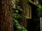Secluded bungalow shaded by trees Hotel Chateau Marmont Sunset Strip Los Angeles