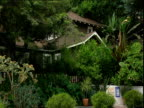 Secluded cottage surrounded by trees and verdure Chateau Marmont Sunset Strip Los Angeles