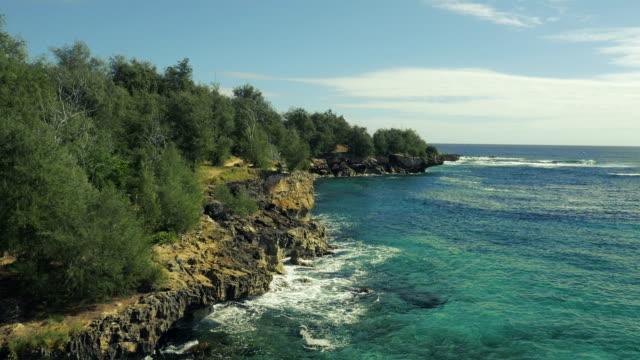 Afgelegen prive Hawaiian Beach