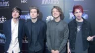 5 Seconds of Summer at PEOPLE Magazine Awards in Los Angeles CA