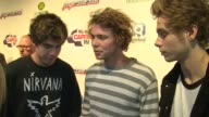 Seconds of Summer on Christmas and travel problems at The Jingle Bell Ball 2014 on 7th December 2014 in London England