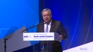 UN Secretary General Antonio Guterres seeks to reassure international Jewish community leaders that he will stand up against any perceptions of...
