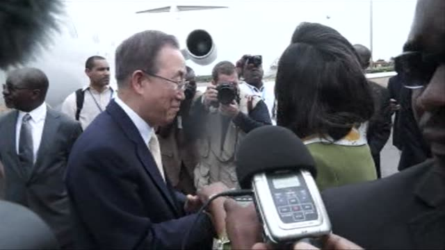 UN Secretary General Ban Ki moon made an impassioned plea Saturday to the leaders of the strife torn Central African Republic to prevent a new...