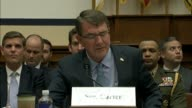 Secretary of defense Ashton Carter says the United States is working with Iraq to develop an expeditionary force that has destroyed over 400 oil...