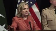 Secretary of State Hillary Clinton said Friday the United States was more committed to Pakistan after the Osama bin Laden crisis but urged the...