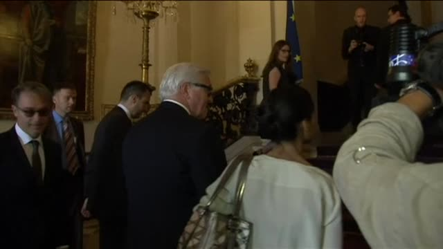 US Secretary of State John Kerry and top diplomats from Europe and the Middle East including French Foreign Minister Laurent Fabius gathered in Paris...