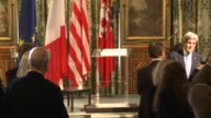 US Secretary of State John Kerry held a minute of silence for the victims of Paris terrorist attacks Friday with Paris Mayor Anne Hidalgo
