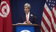 US Secretary of State John Kerry made a brief unannounced trip to Tunisia Tuesday to back the transition to democracy in the North African country...