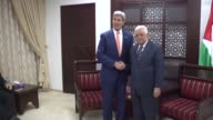 US Secretary of State John Kerry met with Palestinian president Mahmud Abbas in Ramallah on Tuesday shortly after expressing strong support for...