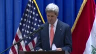 US Secretary of State John Kerry on Monday pledged intense support for Iraq against the existential threat of a major militant offensive pushing...