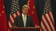 US Secretary of State John Kerry on Thursday said Israel and the Palestinians faced a dangerous moment as violence spiralled in Gaza adding he had...