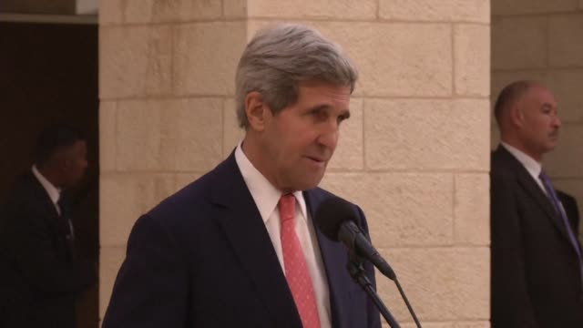 US Secretary of State John Kerry reaffirmed on Wednesday Washingtons rejection of Israeli settlement activity in the occupied Palestinian territories...
