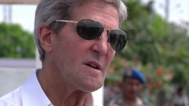 Secretary of State John Kerry says two highprofile raids in Libya and Somalia show the United States' unflinching determination to hunt down those...
