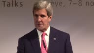 US Secretary of State John Kerry says Washington remains intent on ensuring that Iran does not acquire a nuclear weapon after international talks on...