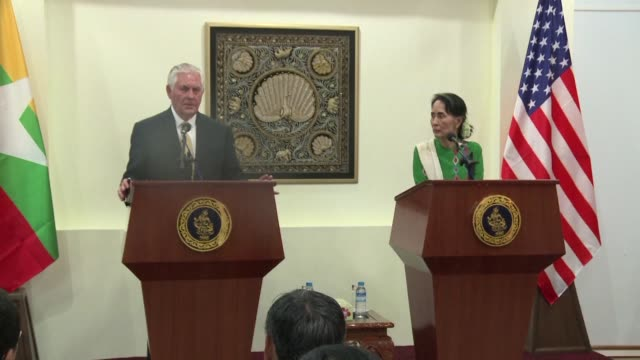 US Secretary of State Rex Tillerson says that levying sanctions against Myanmar over the Rohingya crisis is not advisable at this time following a...