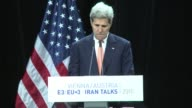 US Secretary of State says that the deal reached over Iran's nuclear programme will bring 'insight and accountability for a lifetime