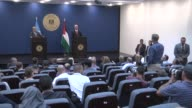 SecretaryGeneral Antonio Guterres and Palestinian Prime Minister Rami Hamdallah attend a joint press conference following their meeting at the Prime...