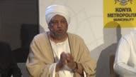 SecretaryGeneral of the International Union of Muslim Scholars Ali Qara Daghi Saudi Arabian scholar Selman bin Fahd ElAdve and Sudan's Mufti Issam Al...