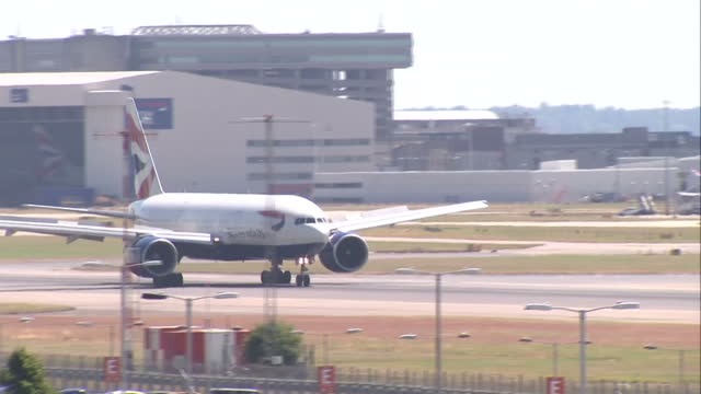 Security at UK airports is being immediately tightened after US spies warned of the 'credible threat' of an alQaeda terror attack Shows exterior...