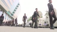 Security is high outside Thailand's top court which will rule whether ousted premier Yingluck Shinawatra is guilty of criminal negligence a verdict...