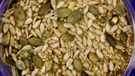 Seed mix. Food background
