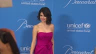 Selena Gomez at the UNICEF Ball Honoring Jerry Weintraub at Beverly Hills CA