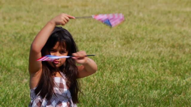 Selena's Flag Waving
