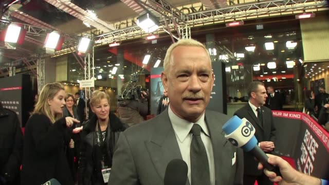 Self described history geek Steven Spielberg presents his Cold War thriller Bridge of Spies starring Tom Hanks in Berlin
