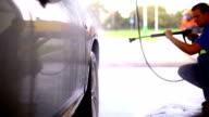 Self service car wash.
