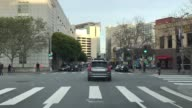 A selfdriving Volvo seen at the streets of San Francisco on December 21 2016 Uber's fleet of autonomous vehicles was launched first in Pittsburg in...