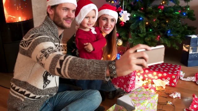 Selfie on Christmas eve