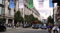 Selfridges store in Oxford Street London