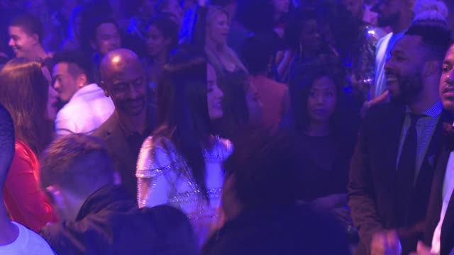 Selita Ebanks at Warner Music Group Grammy Party in Los Angeles CA