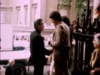 London St MartinsintheField CMS Le Mesurier arrives LR PAN Sir Laurence Olivier arrives MS Bruce Forsythe and wife Anthea in LR MS Burt Kwouk talking...