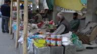 Sellers Selling Stuff On The Main Bazaar (Market) In Leh, Ladakh