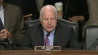 Senate Armed Services Chairman John McCain of Arizona says that coalition partners from NATO Pakistan the Taliban and families of US service members...