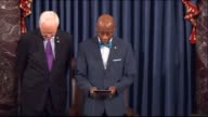 Senate Chaplain retired Admiral Barry Black praise that Americans recall the tragedy and heroism of that day to remember that freedom is not free...