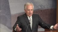 Senate Foreign Relations Committee chairman Bob Corker of Tennessee says that a news conference that everyone is hedging their bets in the region of...
