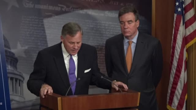 Senate Intelligence Committee Chairman Richard Burr tells reporters that committee staffers had interviewed persons involved with 2016 campaign...