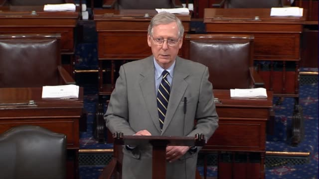 Senate Majority Leader Mitch McConnell of Kentucky begins by asking what has happened in the seven years since Obamacare was imposed on American...