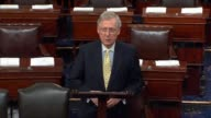 Senate Majority Leader Mitch McConnell of Kentucky welcomes members from a seven week summer recess saying that there the Congress has got a lot to...