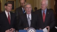 Senate Majority Leader Mitch McConnell says that president Obama should take credit for the debacles that he created a disaster he and his party had...